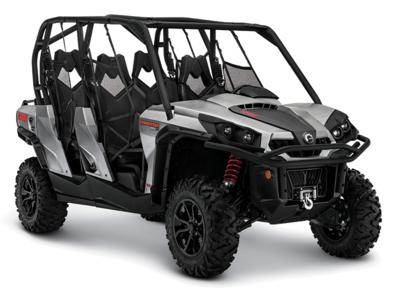 2015 Can-Am® Commander™ MAX XT™ 1000 Brushed Aluminum Stock: B11715 | Lifestyles Honda