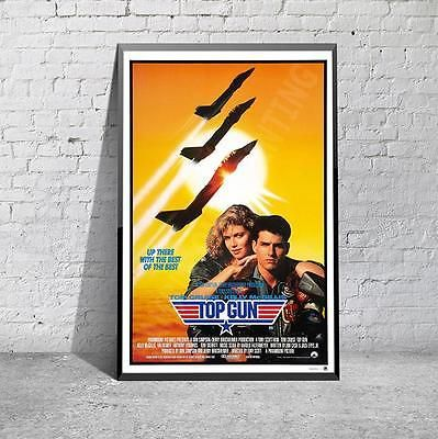 Top gun tom cruise #classic 80's navy movie film #poster #print picture a3 a4,  View more on the LINK: http://www.zeppy.io/product/gb/2/281469769516/