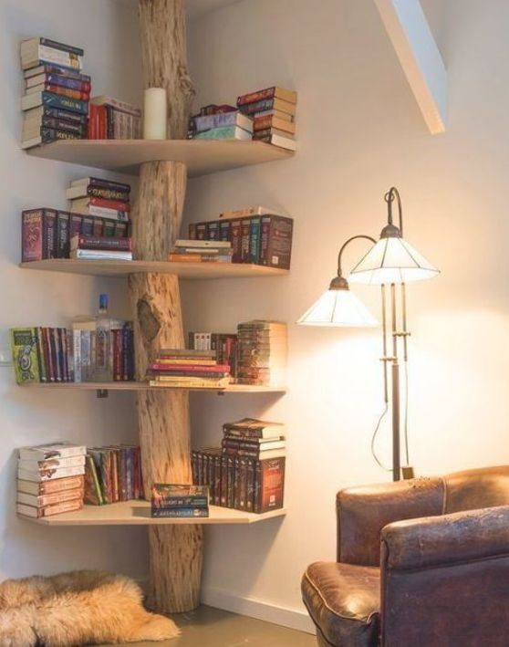 15 Insanely Creative Bookshelves You Need to See - Shelf Bookcase - Ideas of Shelf Bookcase #ShelfBookcase - 15 Insanely Creative Bookshelves You Need to See