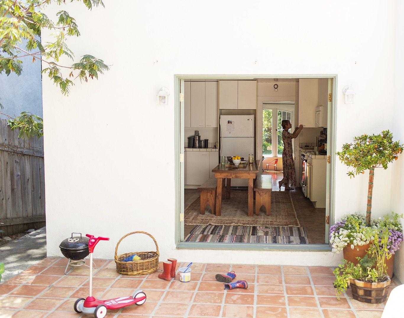 Cocina abierta al exterior   Home   Pinterest   Cocinas abiertas ...