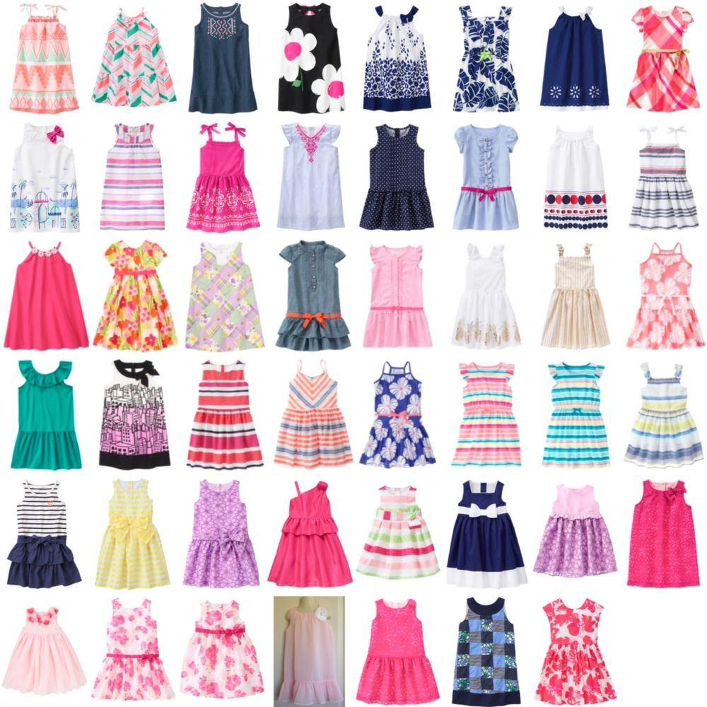 Gymboree spring summer sun dress romper U CHOOSE 5 5t 6 7 8 10 NWT