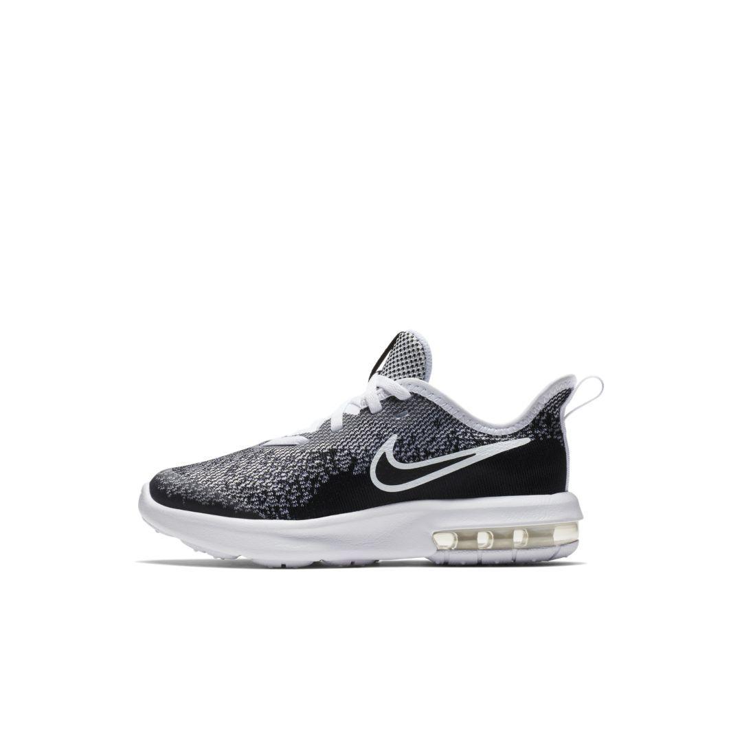 new arrival 07941 2ea1a Nike Air Max Sequent 4 Little Kids  Shoe Size 13.5C (Black)