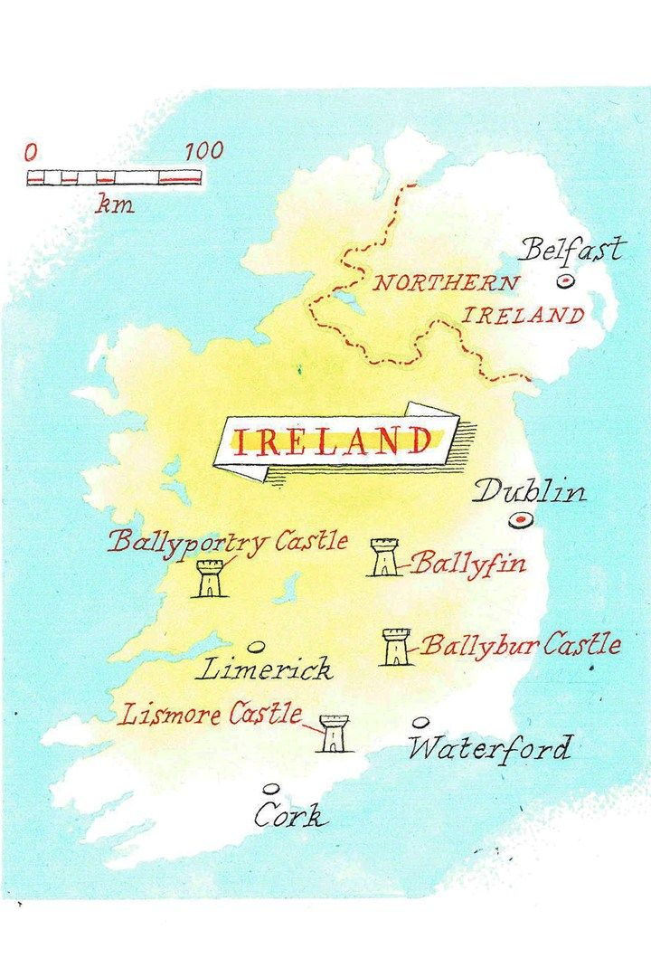Map Of Ireland Castles.Captivating Irish Castles City Country Maps Castle Castles In