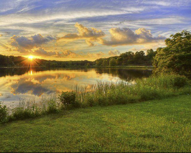 One Of The Best Fishing Lakes In Ohio Awaits Sportsmen In Hocking County At Lake Logan State Park With Images Hocking Hills State Park State Parks Ohio State Parks