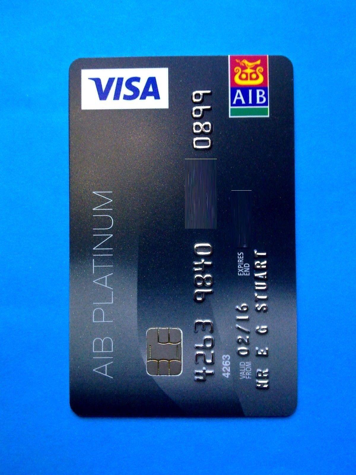 Aib Bank Card