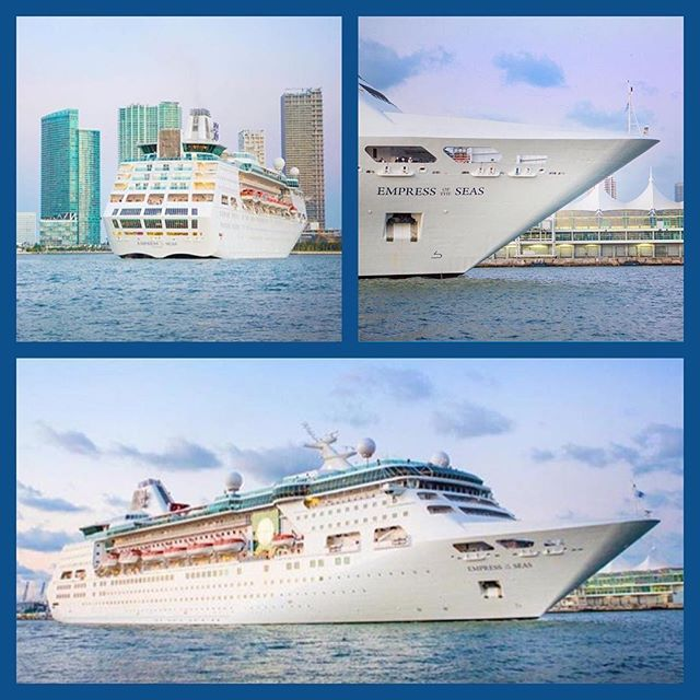 Empress Of The Seas Back In Miami With Royal Caribbean - Empress of the seas cruise ship