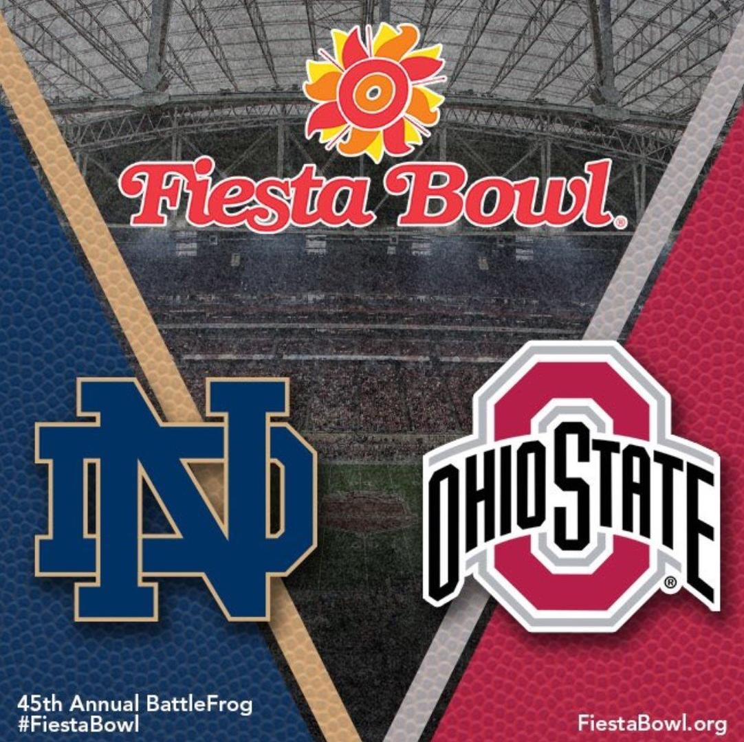 2016 FIESTA BOWL Ohio State 44, Notre Dame 28 | Ohio state