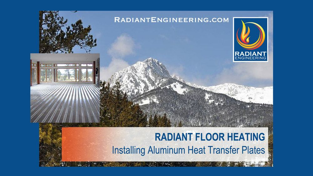 ThermoFin Radiant Heat Transfer Plates — Radiant Design