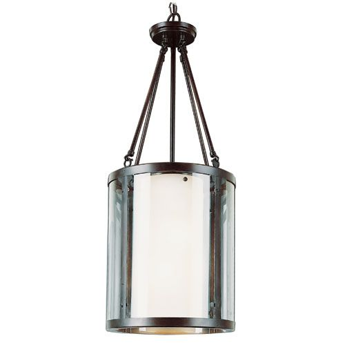 Young And Hip Rubbed Oil Bronze Two Light 43 Inch Foyer Pendant Trans Globe Lighting Drum