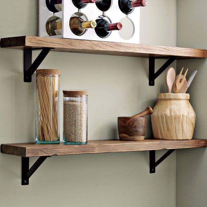 West Elm Floating Shelves wall-shelves 692×692 pixels | for the home | pinterest