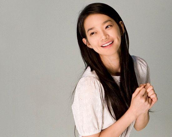 Prettiest Girl Without Makeup Ever Shin Min Ah Wanita