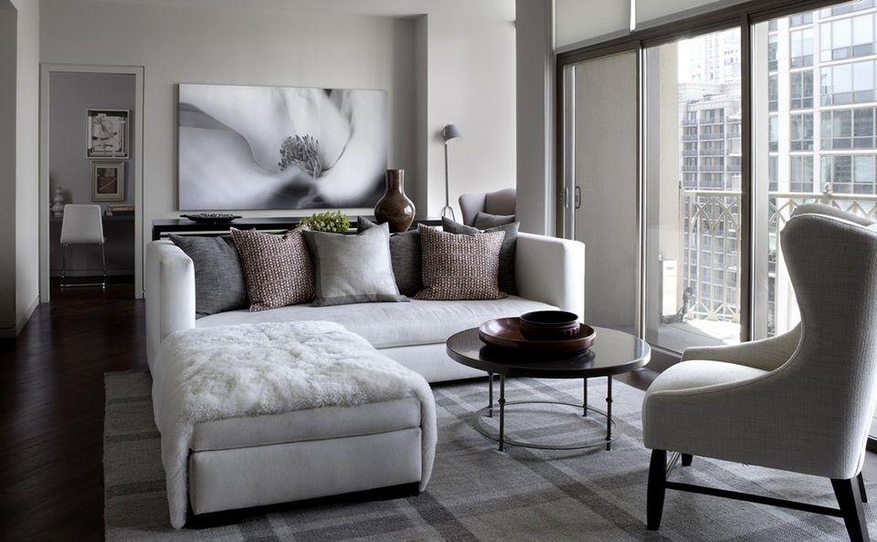 Condo Interior Design Ideas Living Room Popular Decor 35 Chic Gray Neutral Spaces City By Michael Del Piero Good