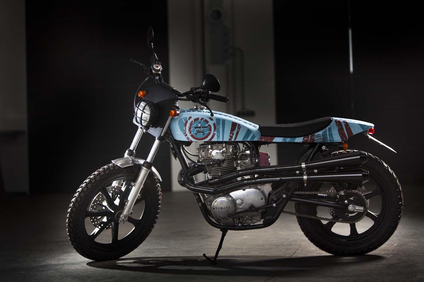 "Yamaha XS 650 1974 ""Evel Knievel"" by Benders"