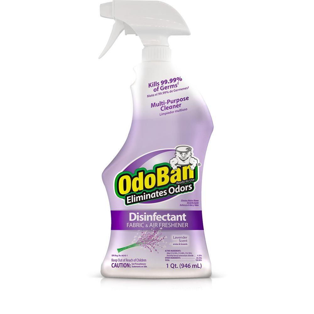 OdoBan 32 oz. ReadytoUse Lavender Disinfectant, Fabric
