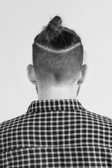 The Undercut Bun Aka The Top Knot The Man Bun Hair Cuts Hair