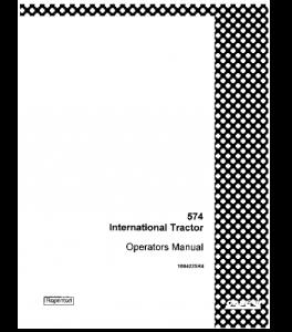 Best case ih international 574 tractor operators manual