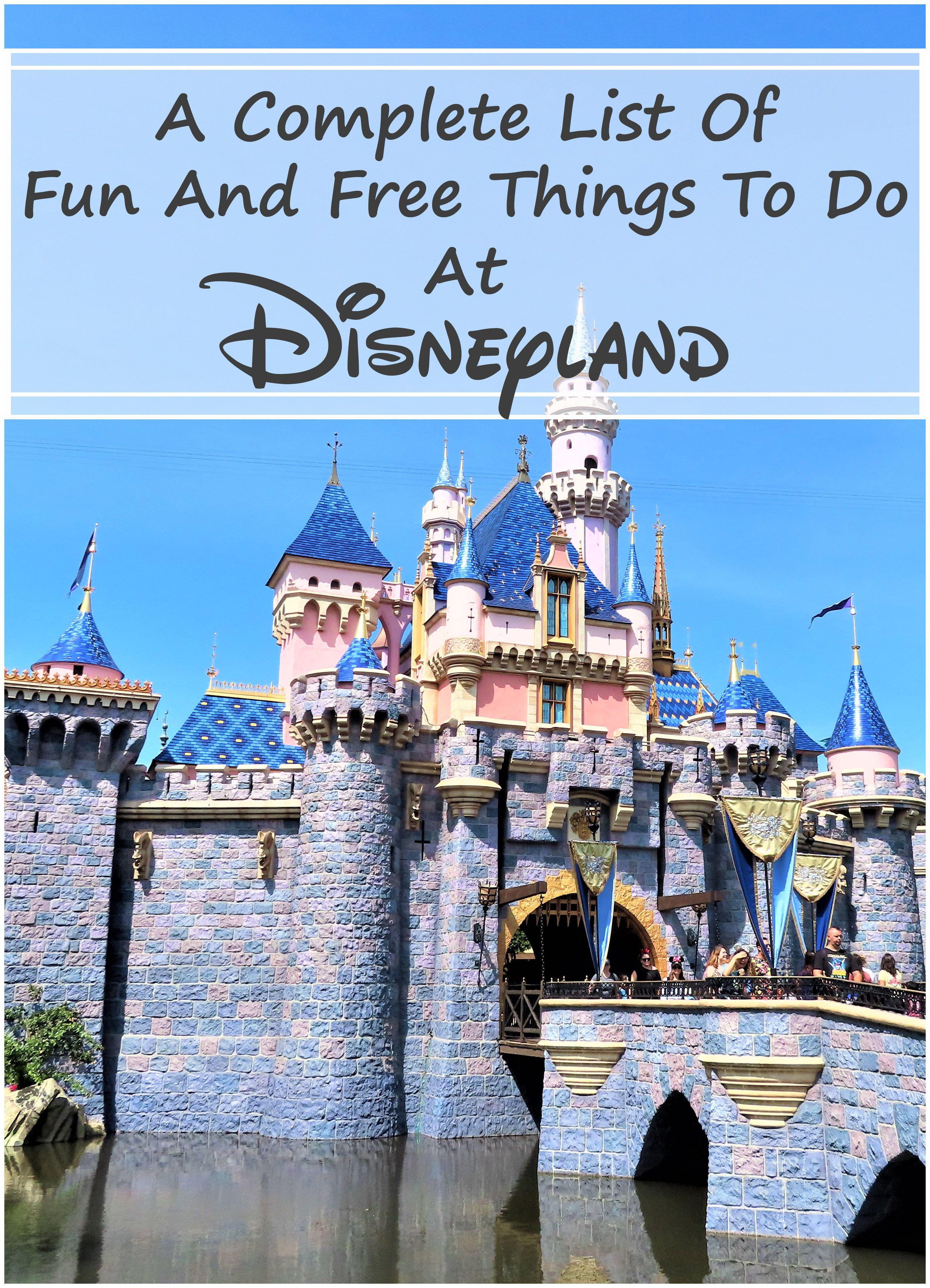 Free Stuff At Disneyland Theme Parks In 2020 Disneyland Planning Disneyland Vacation Disneyland California Adventure