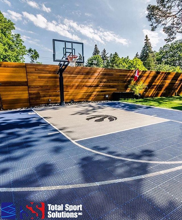 60 New Ideas Backyard Court Backyard Rink Basketball Court Backyard