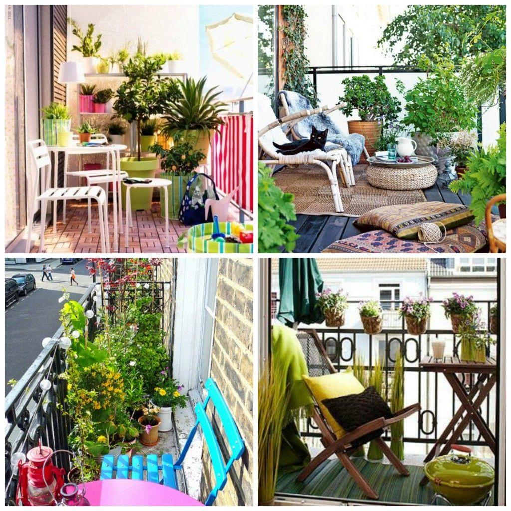 decorar balcones y terrazas pequeñas | MICROTERRAZAS | Pinterest ...
