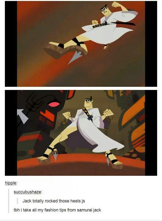 Samurai Jack Samurai Jack Samurai Jack Samurai Old Cartoon Shows