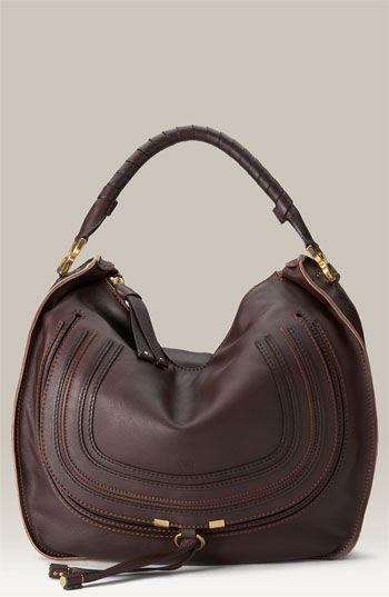 Chloé Marcie Large Leather Hobo
