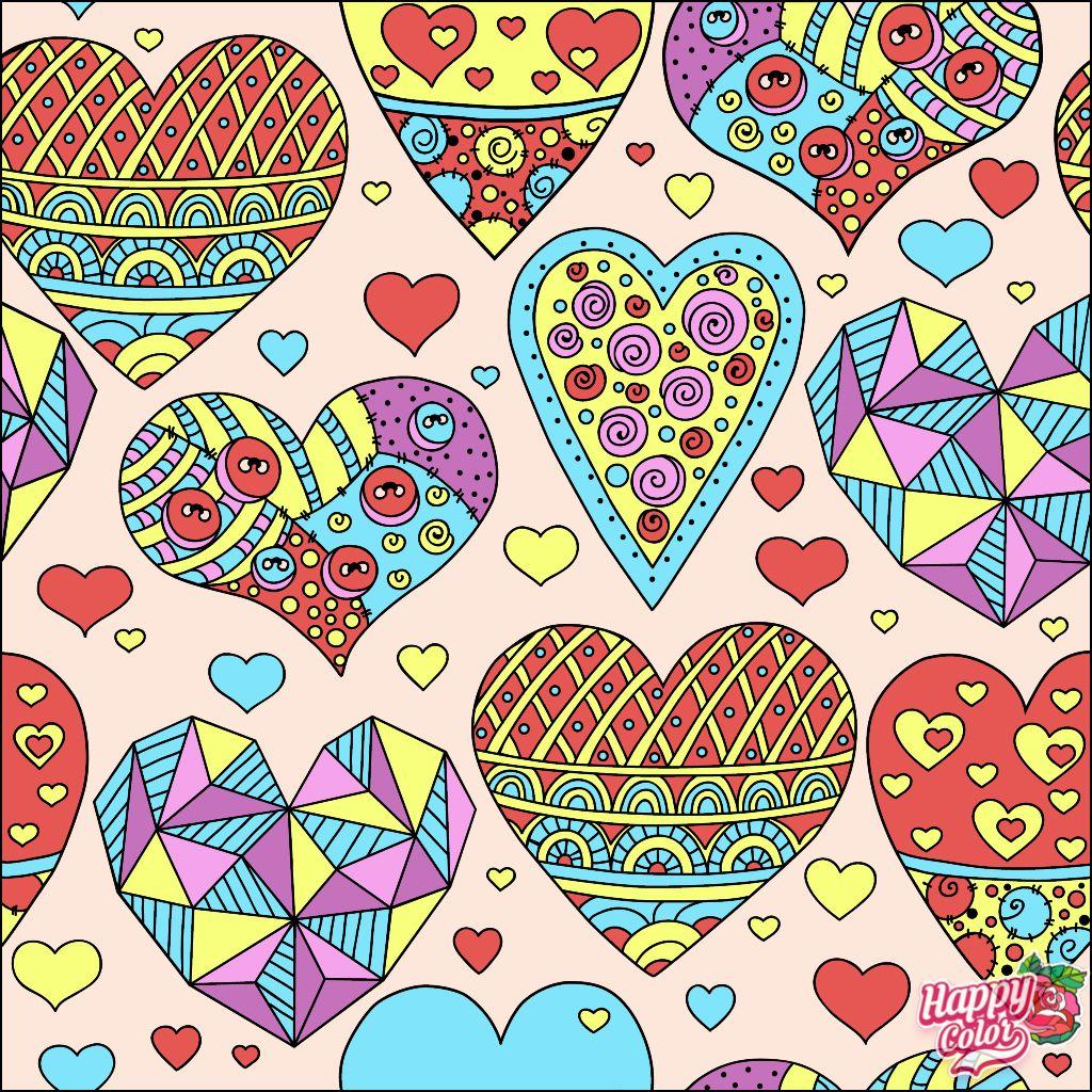 Happycoloringbook Colorful Colors Coloringbook Via Happy Color App For Ipad Happycolorapp In 2020 Coloring Book App Colorful Art Happy Colors