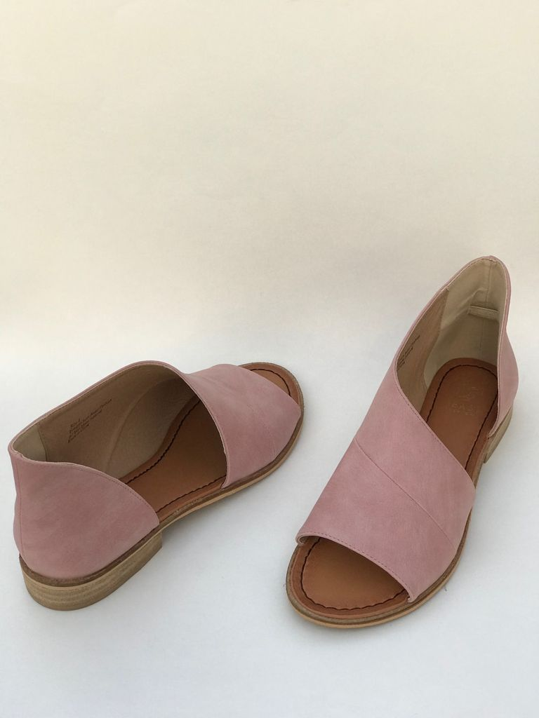 Lotus shoe in blush is part of Heel sandals outfit, Casual shoes women, Women shoes, Womens sandals, Women's shoes sandals, Strappy shoes - Blush Faux Leather Man Made Cutout Toe Side Cutout If you are between sizes go with the half size smaller
