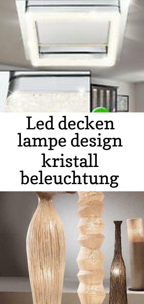 Led decken lampe design kristall beleuchtung chrom leuchte ess zimmer küche büro #afrikanischerstil