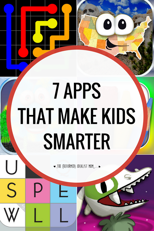 7 Awesome Apps That Will Make Your Kid Smarter Learning Games For Kids Kids App Best Educational Apps