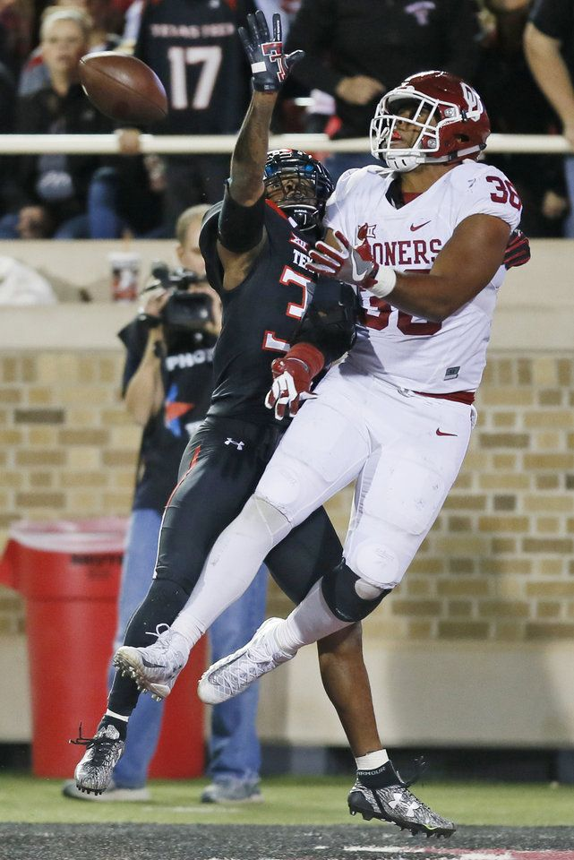 Sooners smash records in wild win over Texas Tech Photo