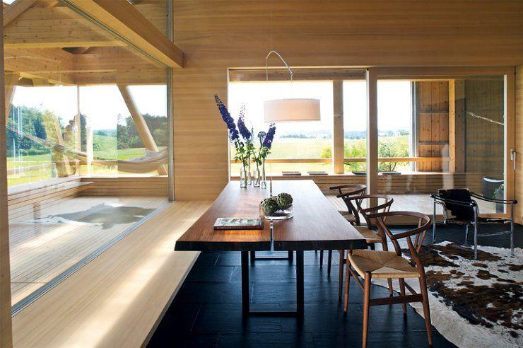 umgebaute scheune wei tanne im essbereich house 2 pinterest haus scheune und umgebaute. Black Bedroom Furniture Sets. Home Design Ideas