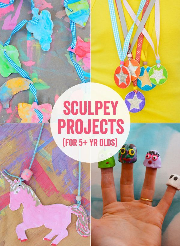 Sculpey Clay Projects For Kids