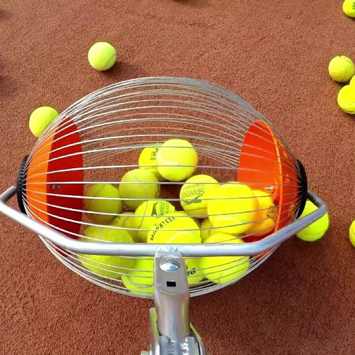 The Cs40 Is An Extremely Light Weight Tool Made For Kids And Coaches To Collect 40 Balls In Seconds And Empty Them Int Tennis Tennis Ball Tennis Ball Machines