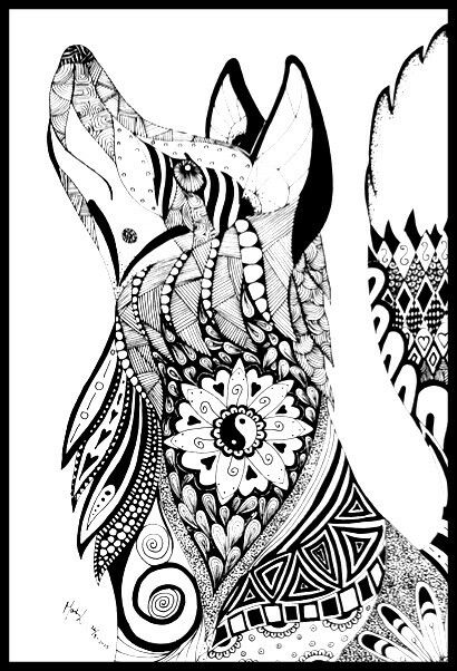 Such a beautiful and intricate design | coloring | Pinterest ...