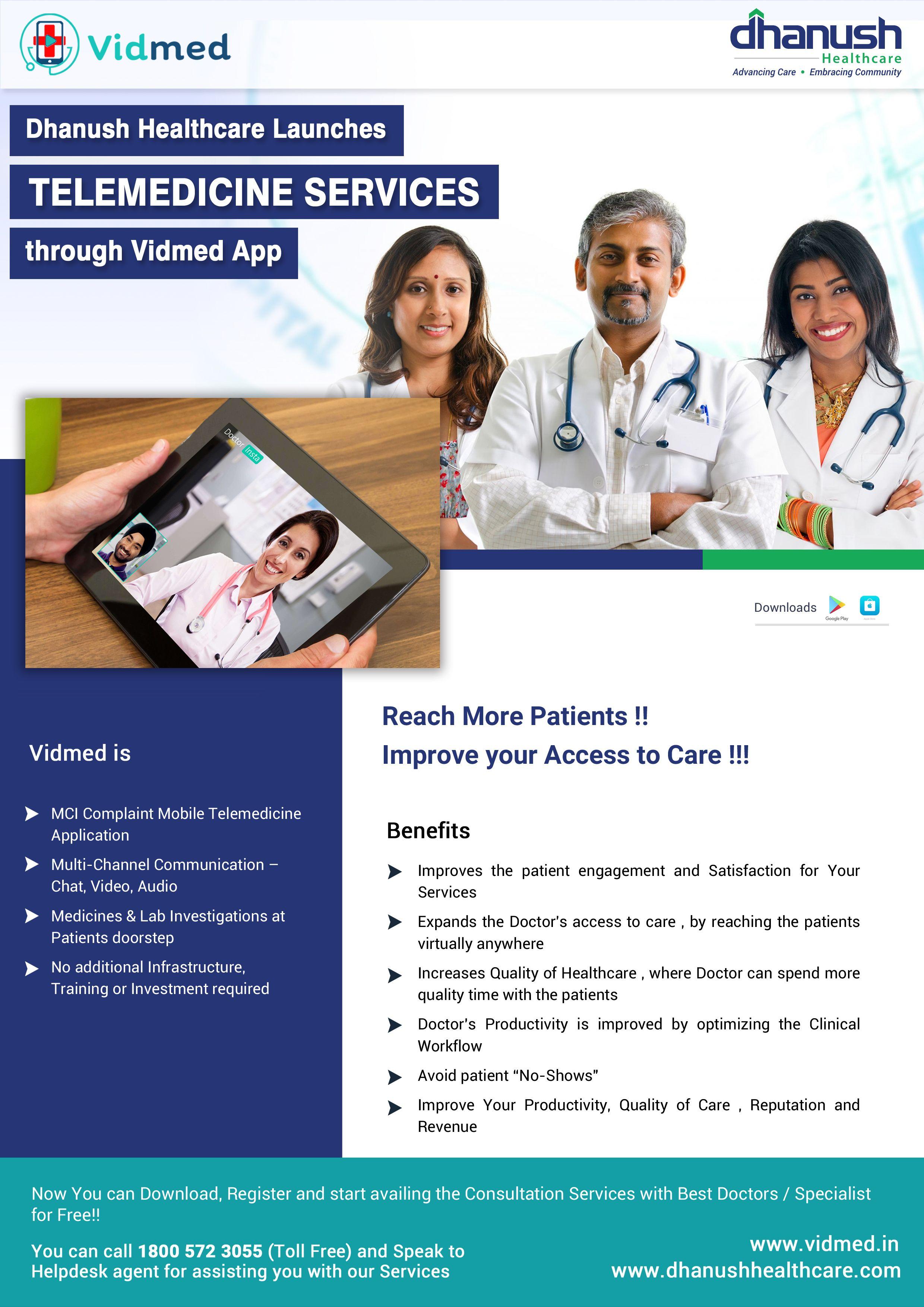 Vidmedtelemedicine patient engagement telemedicine