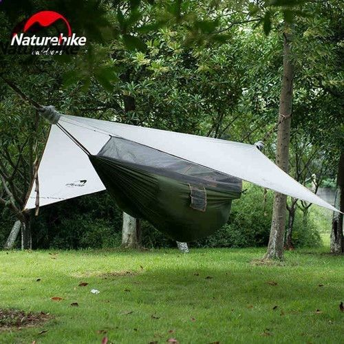 ad0fae9ebe9 Naturehike Ultralight Hanging Tent Outdoor Hammock with Bed Net Sleeping Tent  Camping Bed 1 Person Only 1.5kg NH Tourist Tents