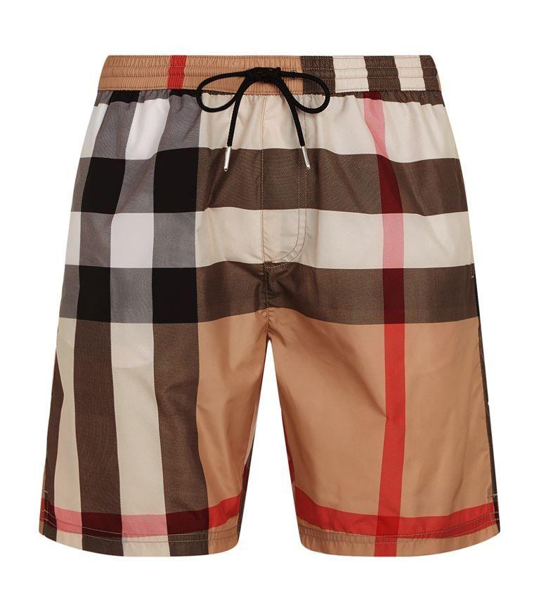 7afd0745a2 BURBERRY House Check Swim Shorts. #burberry #cloth #   Burberry Men ...