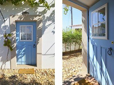 As portas tradicionais da casa Casas Alentejanas