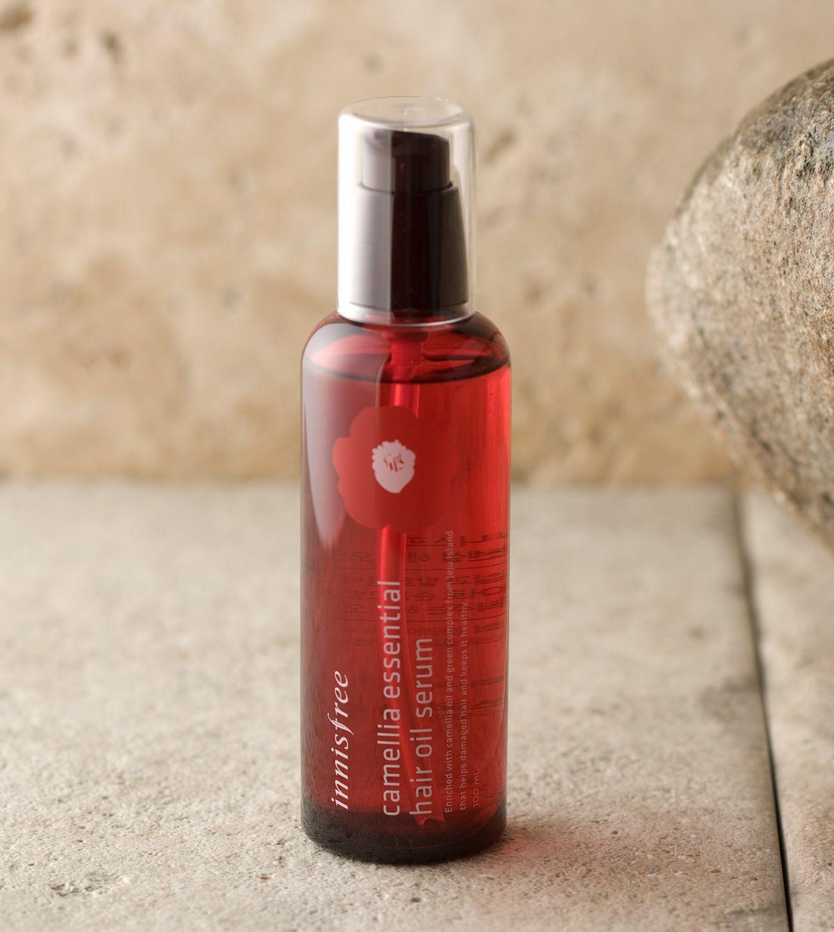 Camellia essential hair oil serum蕴含济州岛山茶花精油与发酵山茶精油,给予损伤