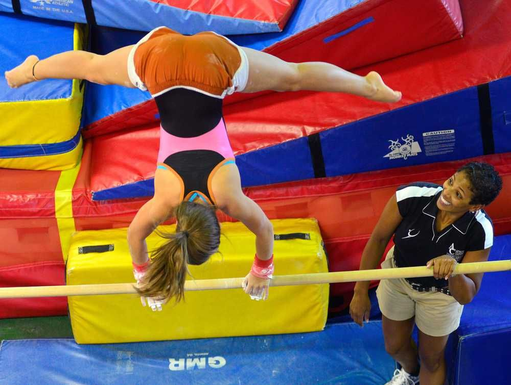 Athens gymnastics coach receives Olympic training