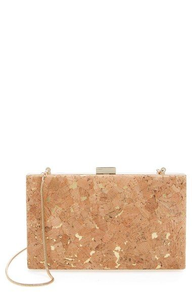 Sondra Roberts Floral Cork Clutch available at #Nordstrom