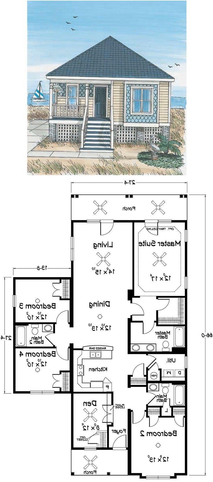 Best 25 Beach House Plans Ideas On Pinterest Lake House Plans From Beach House Plan Denah Rumah Desain Rumah Pesisir