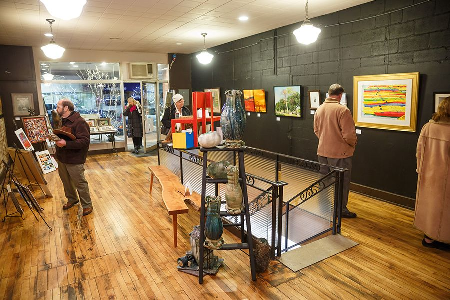 Arts on main elkhart in with images amish country