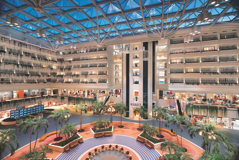 Mco Hotel Near Walt Disney World Hyatt Regency Orlando International Airport