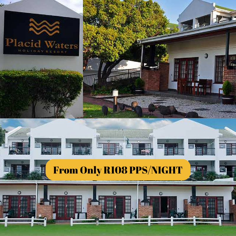 Placid Waters Holiday Resort Sedgefield Western Cape Garden Route From Only R108 Pps Night Resort Hol Holiday Resort Commercial Roofing Sarasota Florida