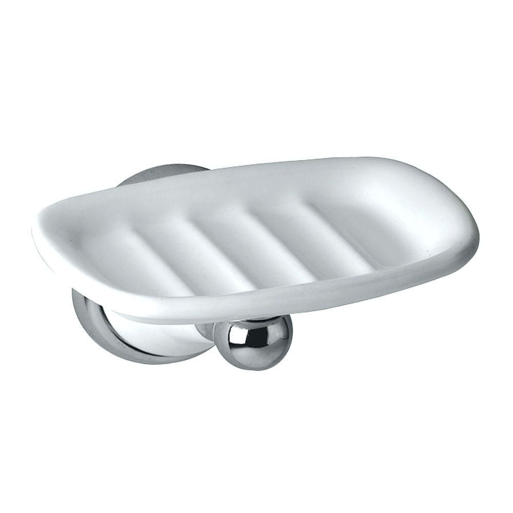 Gatco Franciscan Wall Mounted Soap Dish In Porcelainchrome 5288 At
