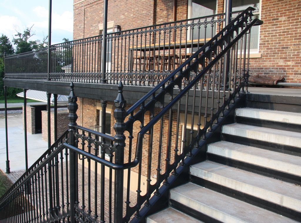 Best 42 Tall Stair And Balcony Railings In Decorative Cast 400 x 300