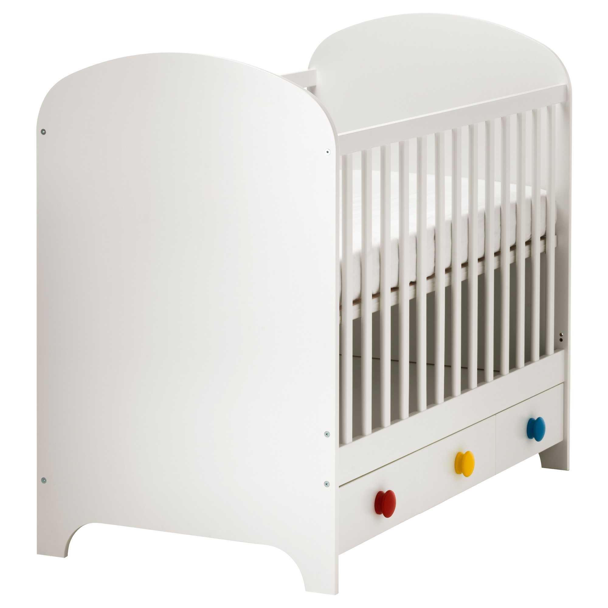 Us Furniture And Home Furnishings Ikea Crib Ikea Baby Ikea Cot