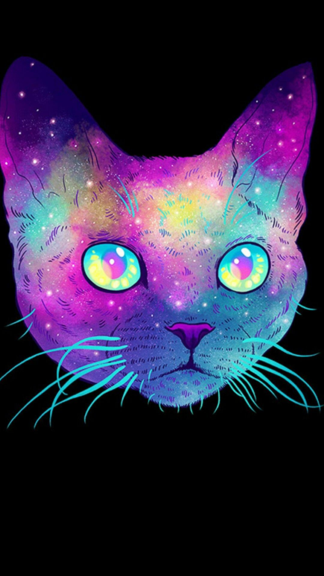 Galaxy Cat Background : galaxy, background, Galaxy, Wallpaper, Space