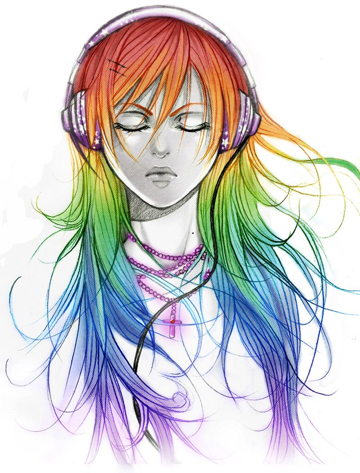 rainbow rainbow rainbow by *AikaXx on deviantART (With